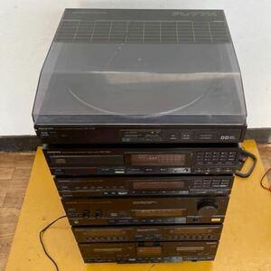 ONKYO オンキョー PA-7SD DX-7SD PT-7SD PL-77X PC-W7SD PE-77X システムコンポ 中古現状品