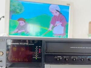 【動作良品】録画王 Panasonic パナソニック S-VHSビデオデッキ NV-FS800