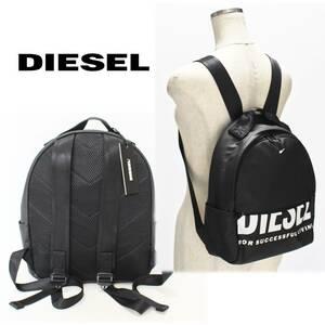 《DIESEL ディーゼル》新品 軽量 ビッグロゴ リュックサック バックパック 男女兼用 A4830