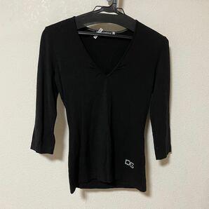Dolce&Gabbana ドルチェ&ガッバーナ 七分丈 Vネック セーター