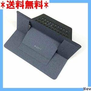【送料無料】 S7 MOFT グレー パソコンに優しい 角度調整可能 コンパク ノートパソコンスタンド ノートPCスタン 28