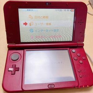 任天堂 New3DSLL Nintendo Nintendo 3DS レッド アダプター 本体