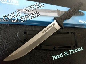 【COLD STEEL】THE SPIKE Bird&Trout キャンプ 登山 釣り ハンティング サバイバルナイフ