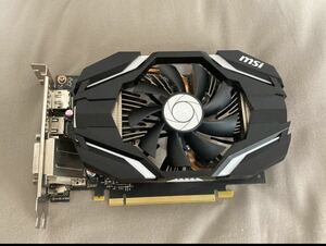 グラフィックボード MSI GeForce GTX 1060 6G OC MSI