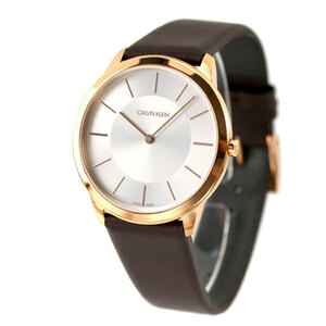 新品 送料無料 カルバンクライン ミニマル 40mm スイス製 メンズ K3M216.G6 CALVIN KLEIN 腕時計 時計