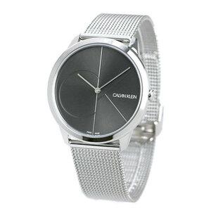 新品 送料無料 カルバンクライン 時計 メンズ 腕時計 CALVIN KLEIN ミニマル 40mm K3M21123 グレーシルバー