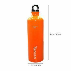 屋外ガスストーブタンクオイル容器 750 ミリリットル燃料ボトル emergenncy ガソリン収納缶