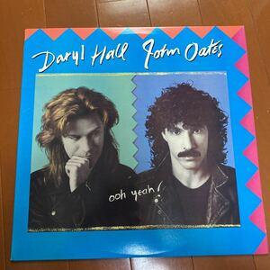 試聴済 DARYL HALL & JOHN OATES Ooh Yeah! ('88 Arista) USオリジナル ダリルホール&ジョンオーツ