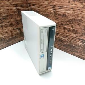 【高速起動】NEC デスクトップPC J MR-B Windows10 新品 SSD 120GB メモリ 4GB Intel Celeron E3300 2.50GHz 2C2T パソコン
