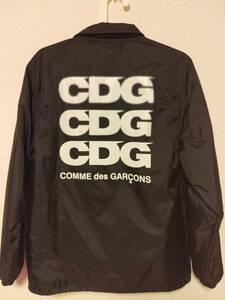 ■□【COMME des GARCONS】コムデギャルソン コーチジャケット Mサイズ ブルゾン ジャンパー 2018年モデル CDG :BLACK GANRYU