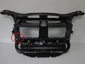 BMW X1 シリーズ E84 2010~2015 sDrive 18i 20i xDrive 20i 25i 28i フロント バンパー ラジエーター コア サポート 5164299017 訳あり