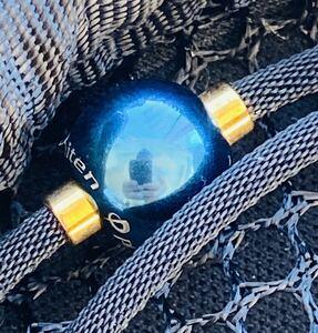 ☆ファイテン(phiten)☆羽生結弦選手愛用 45cm ネックレス RAKUWA X100 ミラーボール☆ブルー☆