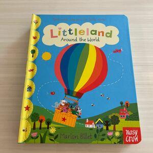 Little land Around the world ボードブック 絵本
