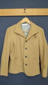 【MENZ-STYLE(メンズスタイル)】メンズ ハーフコート スタンドコート コート キャメル Mサイズ