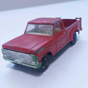 マッチボックス フォード ピックアップ MATCHBOX FORD PICKUP イングランド製 ミニカー レア