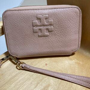 トリバーチラウンドファスナー財布