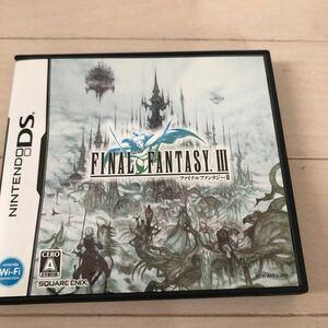 ファイナルファンタジー DSソフト ファイナルファンタジー3