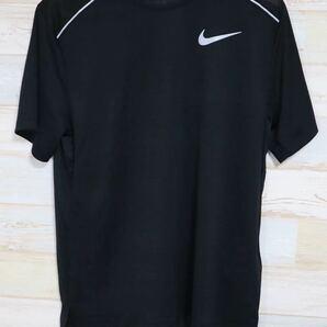 新品 XLサイズ NIKE ナイキ メンズ ドライフィット マイラー ランニング 半袖Tシャツ ブラック 黒 ランニングシャツ