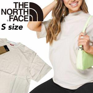 ノースフェイス Tシャツ 半袖 首元ロゴ レディース ピンクティント Sサイズ NF0A491Q タートルネック THE NORTH FACE W ZUMU TEE 新品