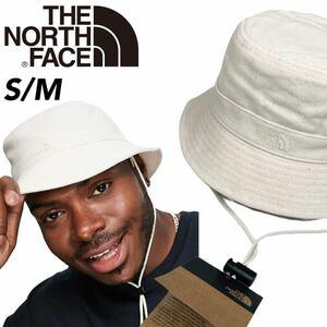 ノースフェイス マウンテン バケット ハット 帽子 NF0A3VWX メンズ レディース アイボリー S/M THE NORTH FACE MOUNTAIN BUCKET HAT 新品