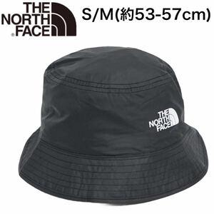 ノースフェイス 帽子 バケット ハット リバーシブル バケツ NF00CGZ0 ブラック メンズ レディース S/M THE NORTH FACE SUN STACH HAT 新品