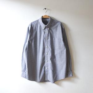 【送料無料】エディーバウアー コットン 長袖シャツ BDシャツ ボタンダウン メンズM Eddie Bauer USA アメカジ 古着 CA0391