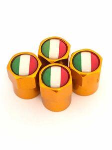 黄 イタリア 国旗 ホイール エアー バルブキャップ フェラーリ Ferrari F360 F355 812 F12 458 スパイダー カリフォルニア