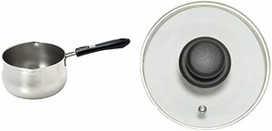 パール金属 日本製 ミルクパン 14cm つぼ型 目盛付 IH対応 ステンレス デイズキッチン HB-1049 & LO