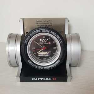 イニシャルD RX-7 FD3S 目覚まし時計