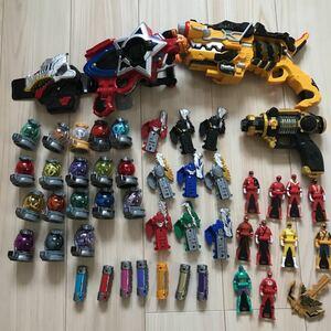 スーパー戦隊 大量セット 変身アイテム リュウソウジャー キューレンジャー ジュウレンジャー ゴセイジャー ゴーカイジャー まとめて