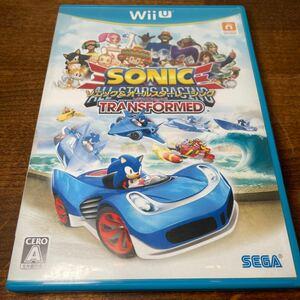 ソニック&オールスターレーシングTRANSFORMED WiiUソフト