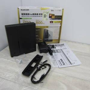 B9556【美品】エレコム WiFi 無線LAN ルーター 11ac ac2600 1733+800Mbps IPv6対応 3階建/4LDK デュアルバンド WRC-2533GST2