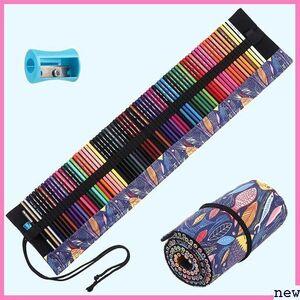 新品★qyieo 色鉛筆/カラーペン/72色/油性色鉛筆/消せる色鉛筆/ 収納 /学生/大人向け/鉛筆削りや消しゴムが付き 225