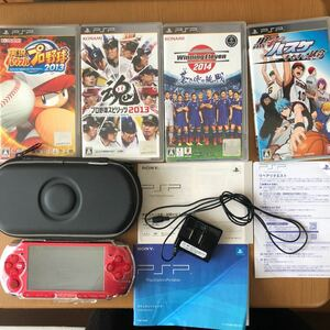 SONY PSP-3000 ラディアントレッド