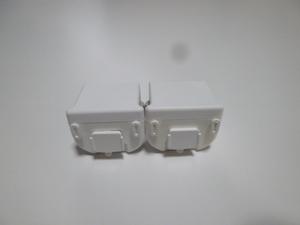 M08【送料無料 即日発送 動作確認済】Wii モーションプラス 2個セット RVL-026(分解洗浄済) ホワイト 白