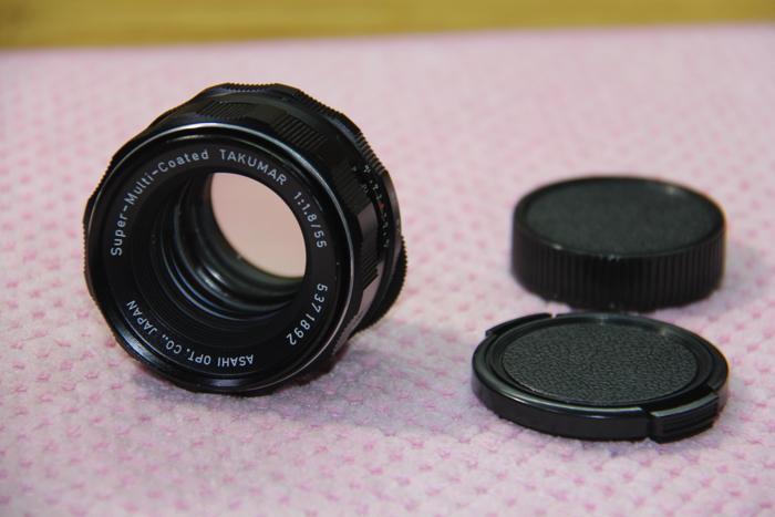 PENTAX SMC Super-Multi-Coated Takumar 55mm F1.8 ペンタックス レンズ M42マウント #3960