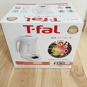 ティファール T-fal ジャスティンプラスコントロール ホワイト 1.2L