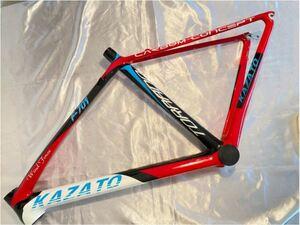 ロードバイク フルカーボンフレーム KAZATO カザト TORNADO F-701 470mm フレーム自転車 クロスバイク 700C ロードバイクフレーム
