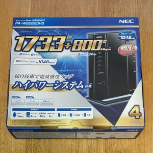 PA-WG2600HS NEC 無線LANルーター Aterm WG2600HS