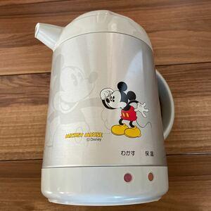 象印 魔法瓶 ZOJIRUSHI テーブルポット電気保温ポット グレー ミッキーマウス ディズニー