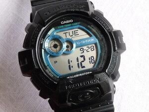 CASIO カシオ 腕時計 G-SHOCK/G-LIDE GLS-8900 黒■電池交換