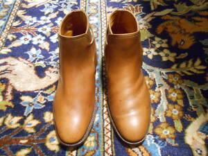 美品 米国靴店 英国発注 英国製 ジョッドバーブーツ うれしい広幅 約24cm