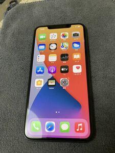 SIMフリー iPhone 11 Pro Max 256GB ミッドナイトグリーン アップルストアー購入 箱無し付属品なし