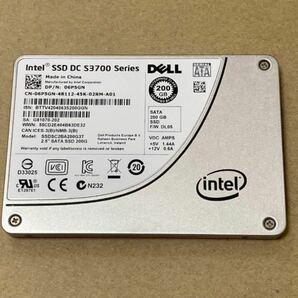 Intel SSD DC S3700 200GB HET MLC チップ SATA 3Gbps 2.5 データセンター
