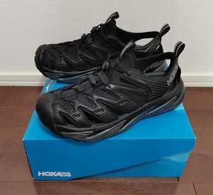 HOKA ONE ONE ホカオネオネ HOPARA ホパラ サンダル 29cm US11 黒 ブラック スポーツサンダル アウトドア