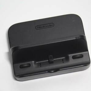 WiiU ゲームパット 充電スタンド クロ WUP-014 任天堂/純正動作品