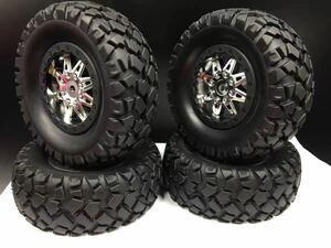 1/10 ラジコン用 タイヤ ホイール装着済 トラック LOSI baja rey TRAXXAS SLASH など