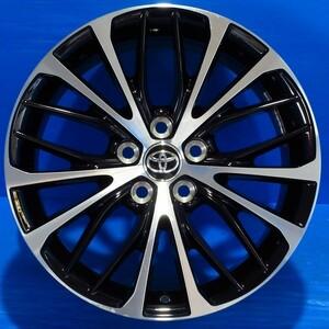 TOYOTA トヨタ 70 カムリ WSレザーパッケージ 純正 ブラックポリッシュ 18インチ8J+50 PCD5H114.3 1本 補修用 スペア用に