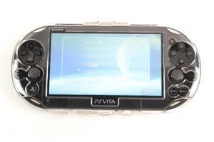 1円~★A264★初期化済★ PlayStation Vita Wi-Fiモデル ブラック (PCH-2000ZA11) ヴィータ 黒 本体のみ