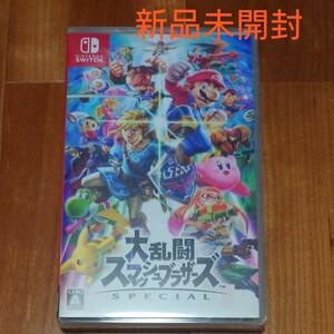新品  Nintendo Switch 大乱闘スマッシュブラザーズSPECIAL